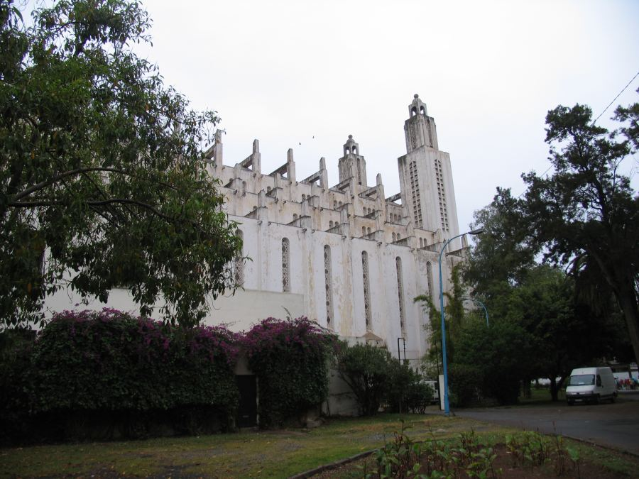 Kathedraal in Casablanca