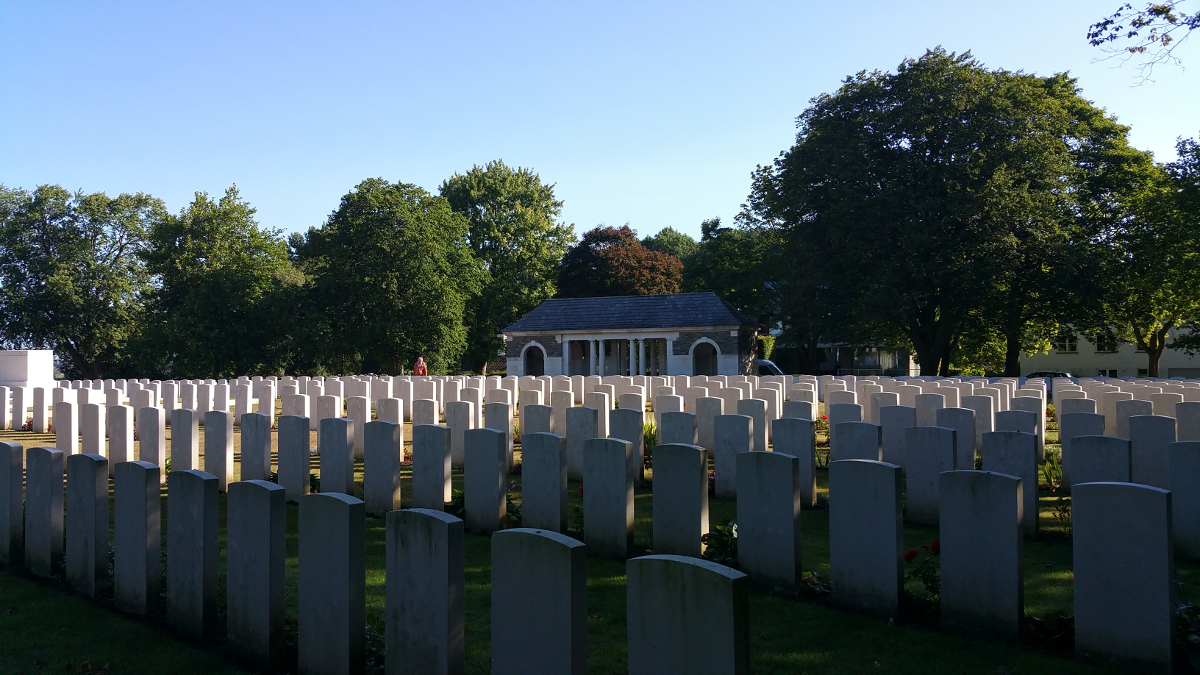 Het Sanctuary Wood Cemetery